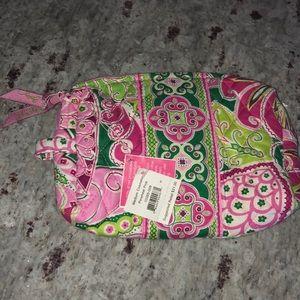 NWT Vera Bradley Medium Cosmetic Pinwheel Pink
